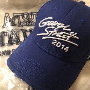 """George Strait """"cowboy rides away"""" Collectors Cap"""